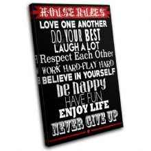 Home House Rules Typography - 13-2377(00B)-SG32-PO